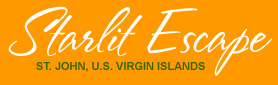 St John villa for Families on St John in the Virgin Islands Logo